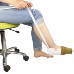 Calzador de medias y calcetines contorneado