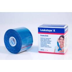Leukotape K 5 cm x 5 metros Color Azul