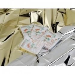 Manta térmica oro/plata (EME10606) 200 unidades