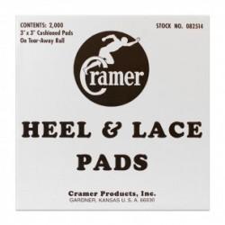 Heel Lace Pads (2000 pads de 7,5 cm x 7,5 cm)