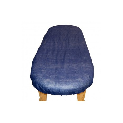 Sabanilla Azul Ajustable de polipropileno 40 gr. 95 cm x 220 cm