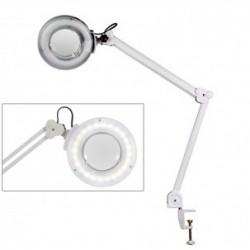 Lámpara Lupa LED de Luz Fría Mega con 5 Aumentos (base fijación por mordaza)