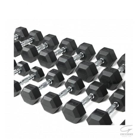 Kit de Mancuernas Hexagonales O'Live (presentación 10 pares)