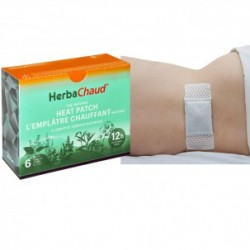Parches de Calor con Hierbas Herba Chaud TDP: Mezcla de minerales y hierbas (6 unidades)