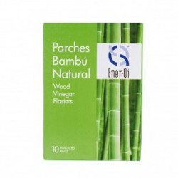 Parches Bambú Natural: Ideales para la depuración del cuerpo (10 unidades)