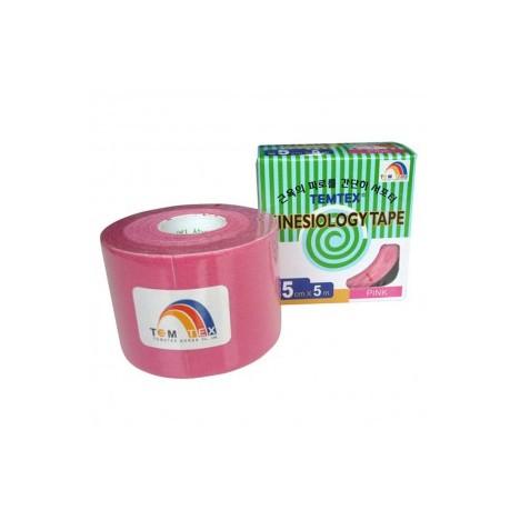 Temtex Kinesiology Tape Rosa 5cm x 5m