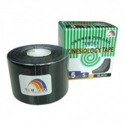 Temtex Kinesiology Tape Negro 5cm x 5m