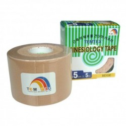 Temtex Kinesiology Tape Beigue 5cm x 5m