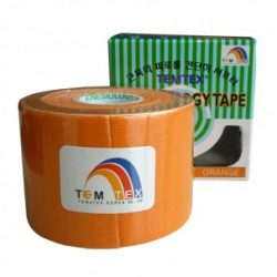 Temtex Kinesiology Tape Naranja 5cm x 5m