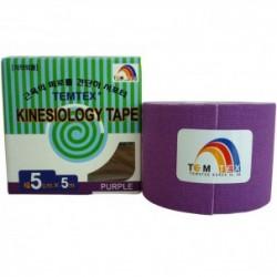 Temtex Kinesiology Tape Morado 5cm x 5m