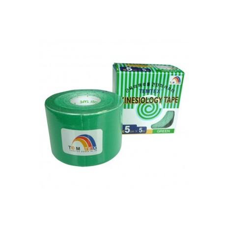 Temtex Kinesiology Tape Verde 5cm x 5m