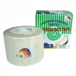 Temtex Kinesiology Tape Blanco 5cm x 5m
