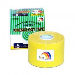 Temtex Kinesiology Tape Amarillo 5cm x 5m