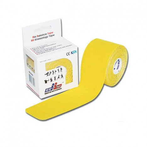 Venda Neuromuscular BB Tape Amarillo 5cm x 5m