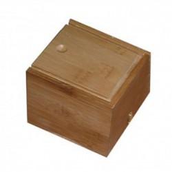 Aplicador Caja Madera Para Moxa 16 x 9.5 x 9.5 cms.