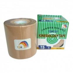 Temtex Kinesiology tape BKT-03 7,5cm X 5m Beige