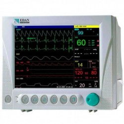 """Monitor de Constantes Vitales Multiparamétrico Portátil con Pantalla Color 10,1"""""""
