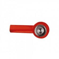 Adaptador Snap con salida 2 mm (1 unidad) Roja