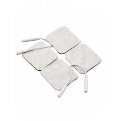 Electrodos 5x5cm bolsa de 4 unidades Marca Fisiomarket