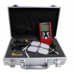 Equipo de Electroestimulación Portátil con 4 modos terapéuticos para Fisioterapia.
