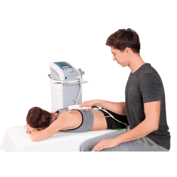 Equipo de ultrasonido multifrecuencial con cabezal de 5cm2