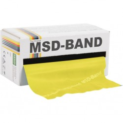 Banda Elastica MoVeS Band 5,5 metros Amarilla