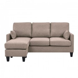 Sofá cama 3 plazas con chaise longue
