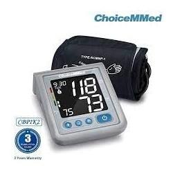 Tensiómetro de brazo CBP 1K2, memoria 2 x 120 mediciones DISPALY 4.0 de ChoiceMmed