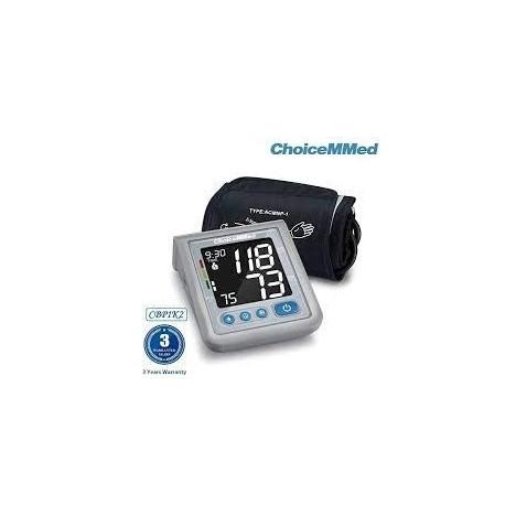 Tensiómetro de brazo CBP 1K2, memoria 2 x 120 mediciones DISPALY 4.0 de ChoiceMed