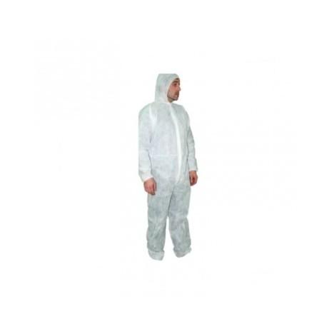 Buzo de protección desechable blanco 50gr. 1 unidad