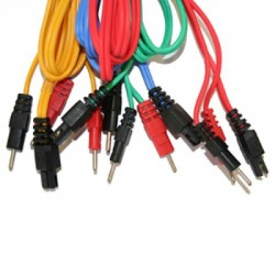Pack Cables Compex Banana/6PIN (4)+Electrodos StimX