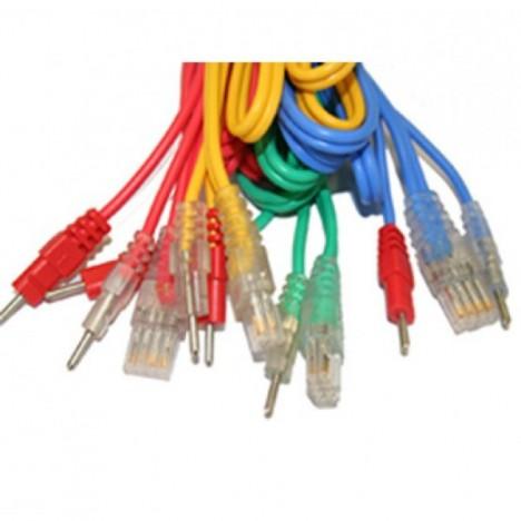 Cable Compex Banana (NO SNAP) 8 Pin