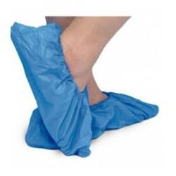 Calzas Cubrezapatos plástico color azul 1000 unidades
