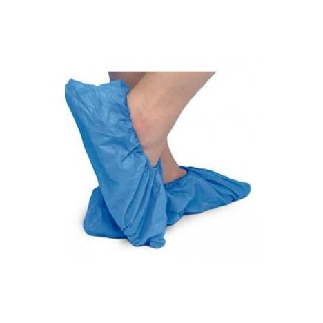 Cubrezapatos plástico color verde 100 unidades