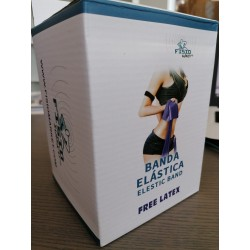 Banda Elástica 22,5m Roja Fisiomarket Latex Free