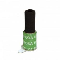 Moxa hueca adhesiva de carbón sin humo.