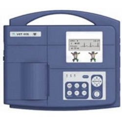Electrocardiógrafo veterinario de 1 canal