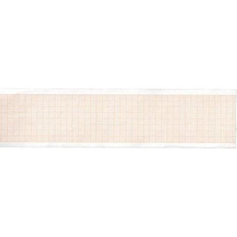Rollo de papel Térmica ECG – Rejilla Naranja – 50 mm X 20 m