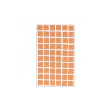Semillas Herbales con Adhesivo Cuadrado (300 unidades): Semillas de mostaza - vacaria