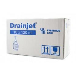 Suero de irrigacion Drain Jet 10 x 120 ml