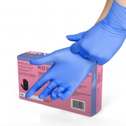 Guantes de Nitrilo Azul