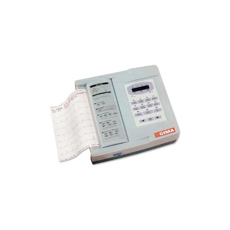 Electrocardiógrafo digital portátil de 6 canales con software y pantalla ECG
