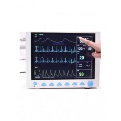 Monitor de paciente multiparamétrico pantalla TFT LCD con 8 canales