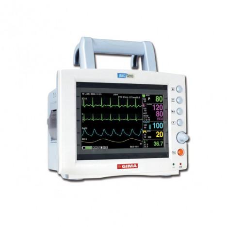 Monitor GIMA BM3 - ECG + SPO2 + NIBP + RESP + TEMP