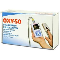 Pulsioxímetro OXY PC-50 con pantalla a color y sonda
