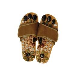 Zapatos de Masaje con Piedras Naturales