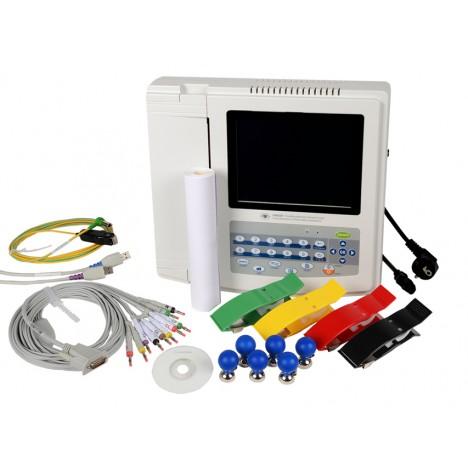 Electrocardiógrafo digital de 12 canales