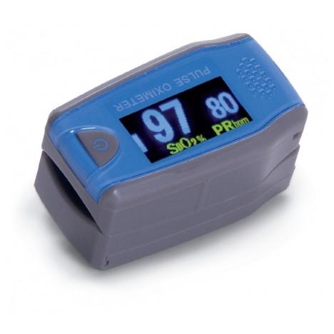 Pulsioxímetro de dedo con onda pletismográfica pediátrico.