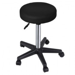 Taburete ergonomico color negro outlet