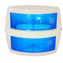 Esterilizador de luz ultravioleta con doble cajón de uso simultáneo para pequeños instrumentos. UV-Power